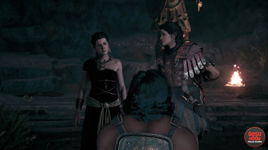 AC Odyssey Kill Monger in Theater or Cave