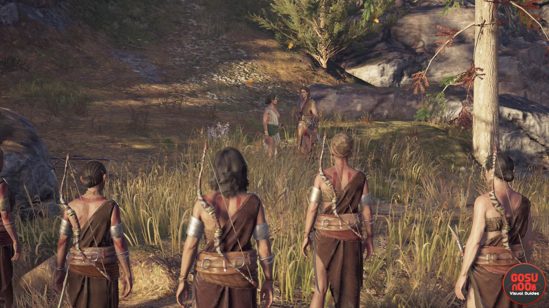 Assassin S Creed Odyssey Daphnae Location In Daughters Of Artemis