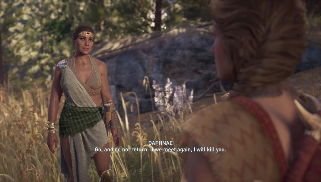 Assassin's Creed Odyssey Romance Daphnae