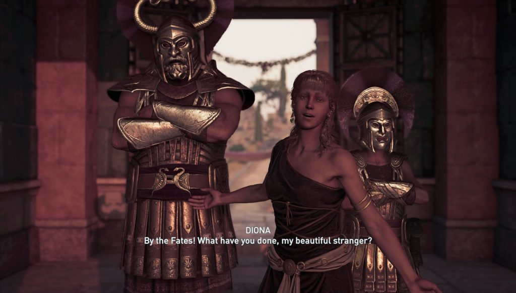 Diona Assassin's Creed Odyssey