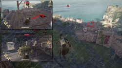 Herakles Bow legendary chest location assassins creed odyssey