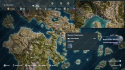 Legendary Chest Locations Pilgrims Hood map Assassins Creed Odyssey