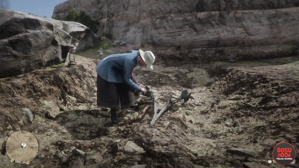Red Dead Redemption 2 Dinosaur Bones Locations - Where to Find Paleontologist