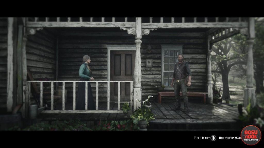 Red Dead Redemption 2 Help Mary or Not - What to Choose