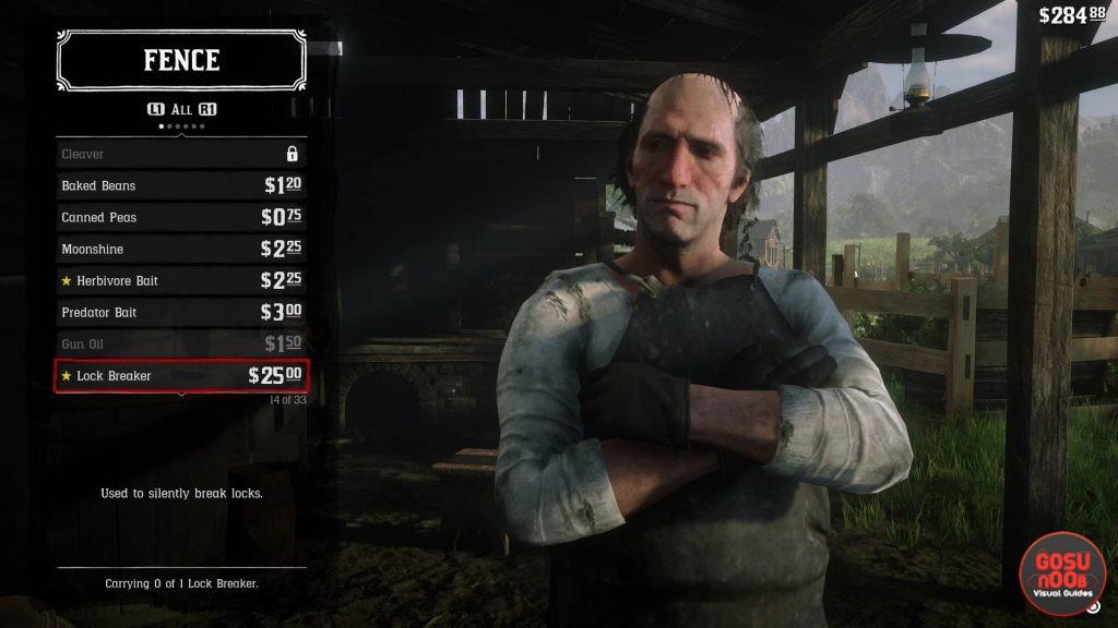 Red Dead Redemption 2 Lock Breaker - How to Get