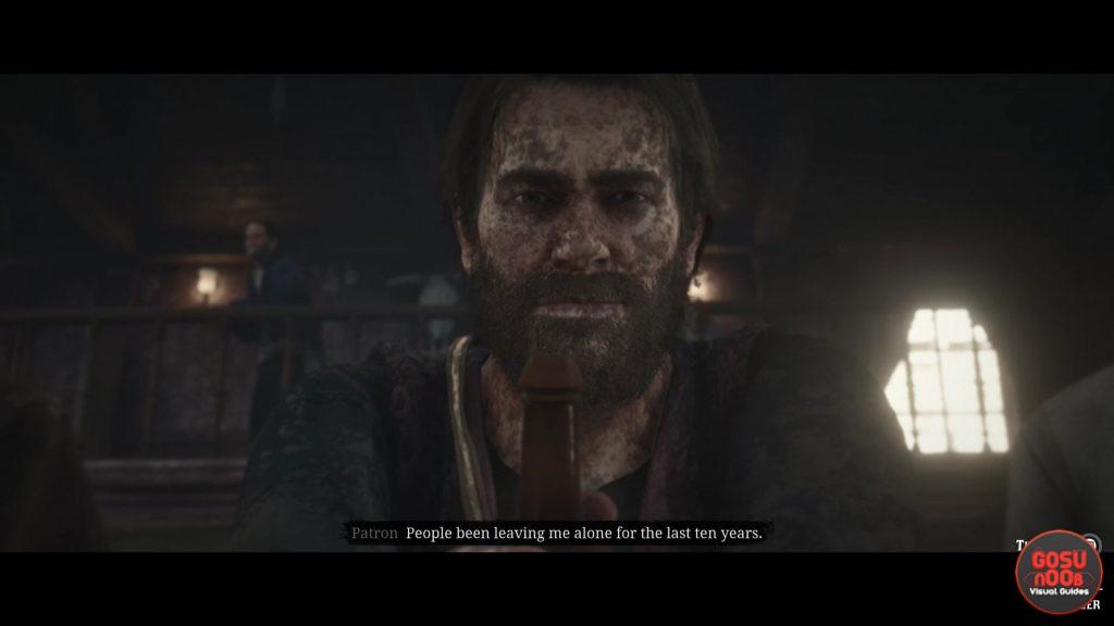 Red Dead Redemption 2 Threaten or Charm Drunk Bar Choice