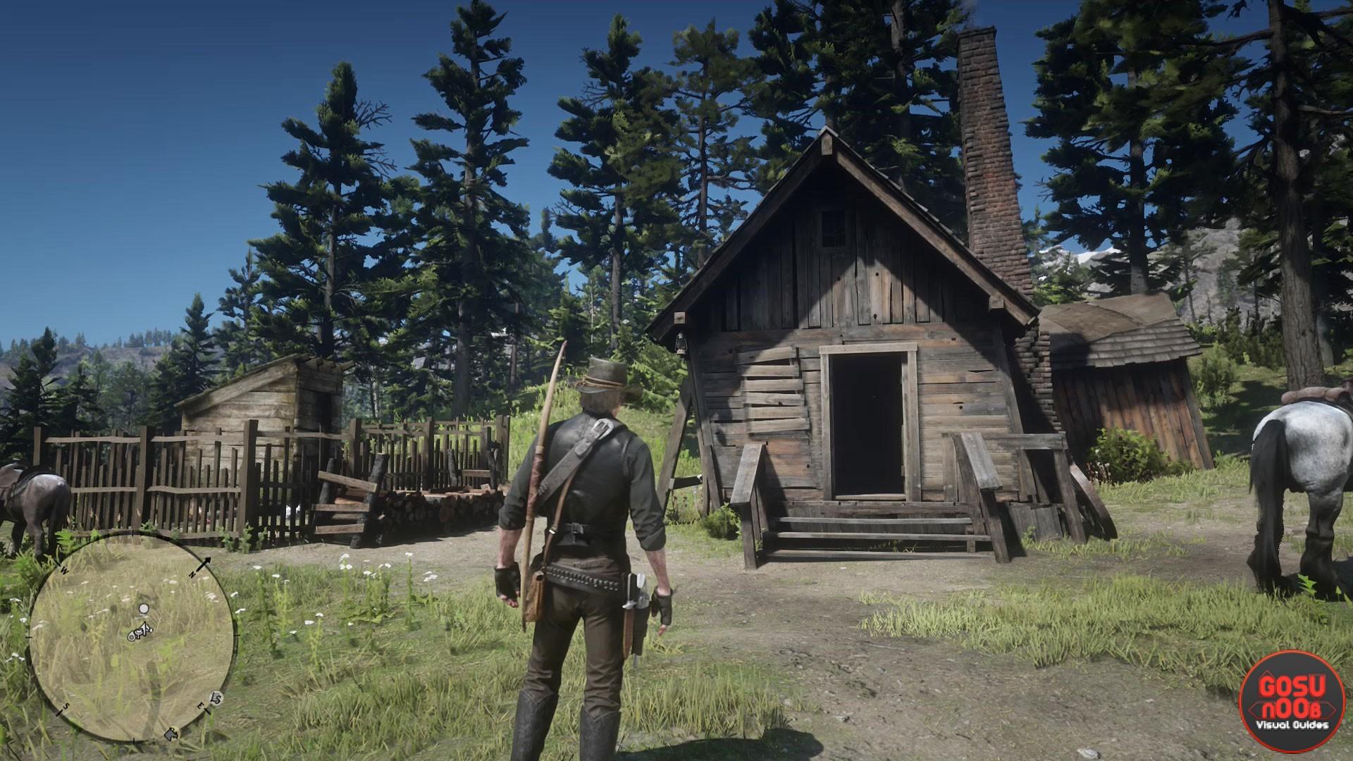 Red Dead Redemption 2 Watsons Blockhutte Karte.Red Dead Redemption 2 Watson S Cabin Location Solution