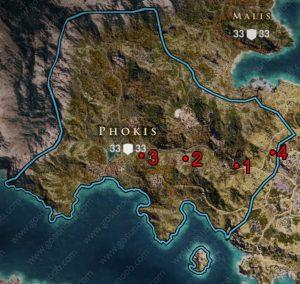 ac odyssey ancient tablets phokis