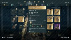 Ac Odyssey Arena Fighter S Set Legendary Armor How To Get