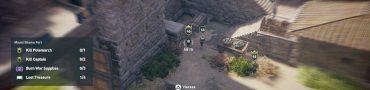 ac odyssey athenian marksman locations fear of arrows quest