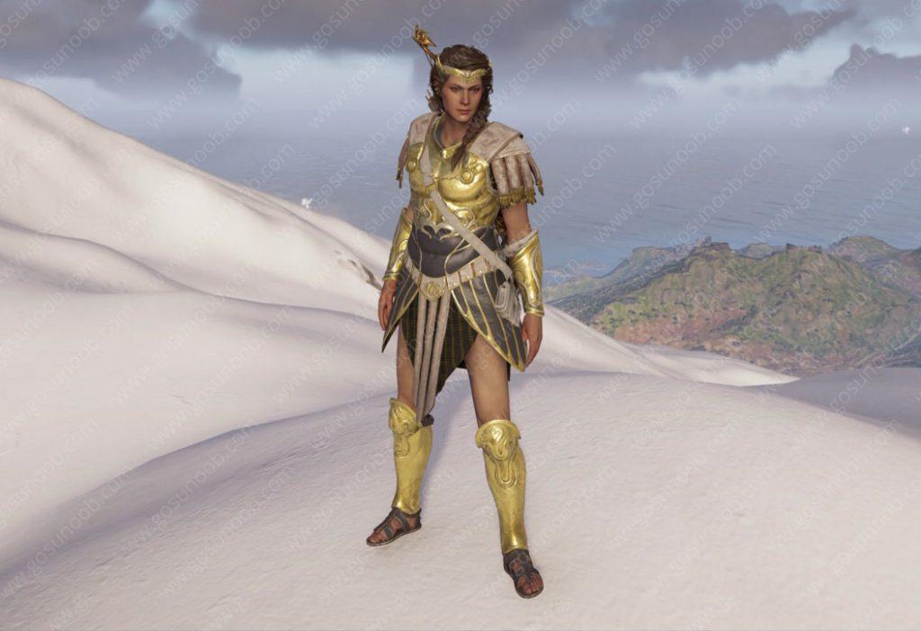 AC Odyssey Demigod Set Legendary Armor - Stats & Showcase