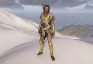 assassins creed odyssey spartan renegade armor kassandra