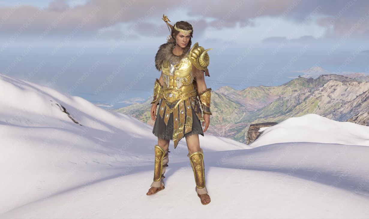 Assassin's Creed Odyssey Greek Heroes Set Legendary Armor