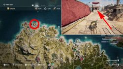 ac odyssey machaon the feared where to find silver vein cultist of kosmos location