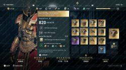 ac odyssey spartan war hero armor