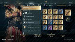 ac odyssey spartan war hero guantlets
