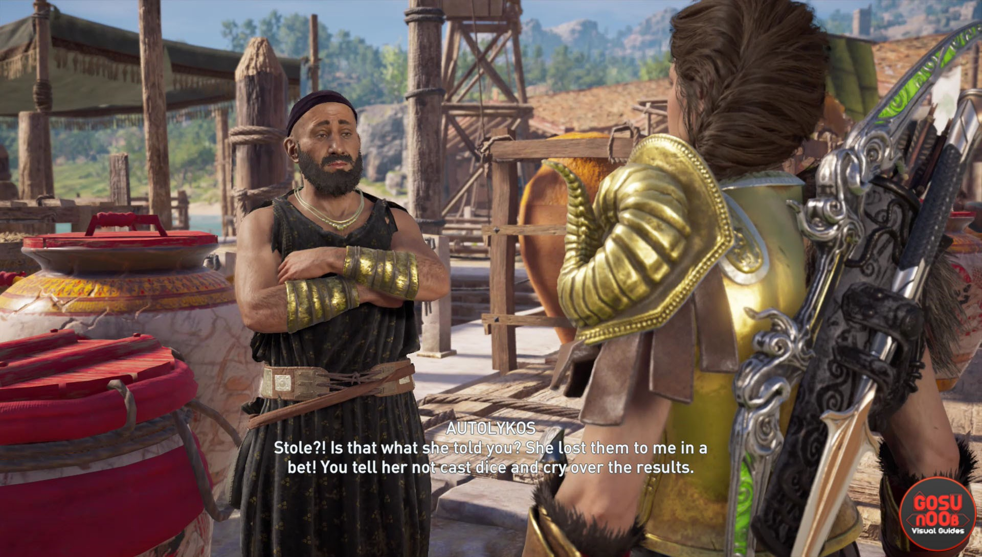 Ac Odyssey Throw The Dice Quest Apollo S Lyre Pan S Flute