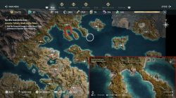 ac odyssey triton's shell of the tides location