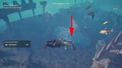ac odyssey where to find sunken artifact location submerged minoan palace