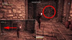 ancient stele tomb of first pythia location where to find ac odyssey