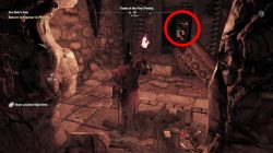 assassins creed ancient stele location tomb of first pythia