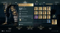 boots of agamemnon legendary armor set ac odyssey
