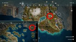 delian league cult of kosmos where to find kodros the bull location ac odyssey