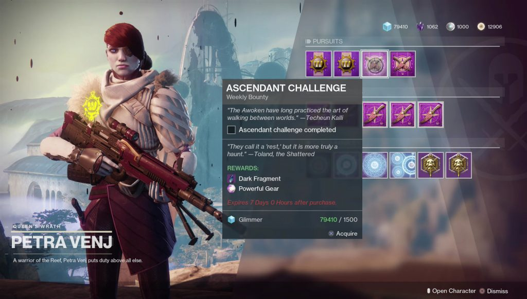 destiny 2 ascendant challenge october 16th