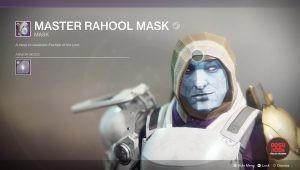 destiny 2 master rahool mask