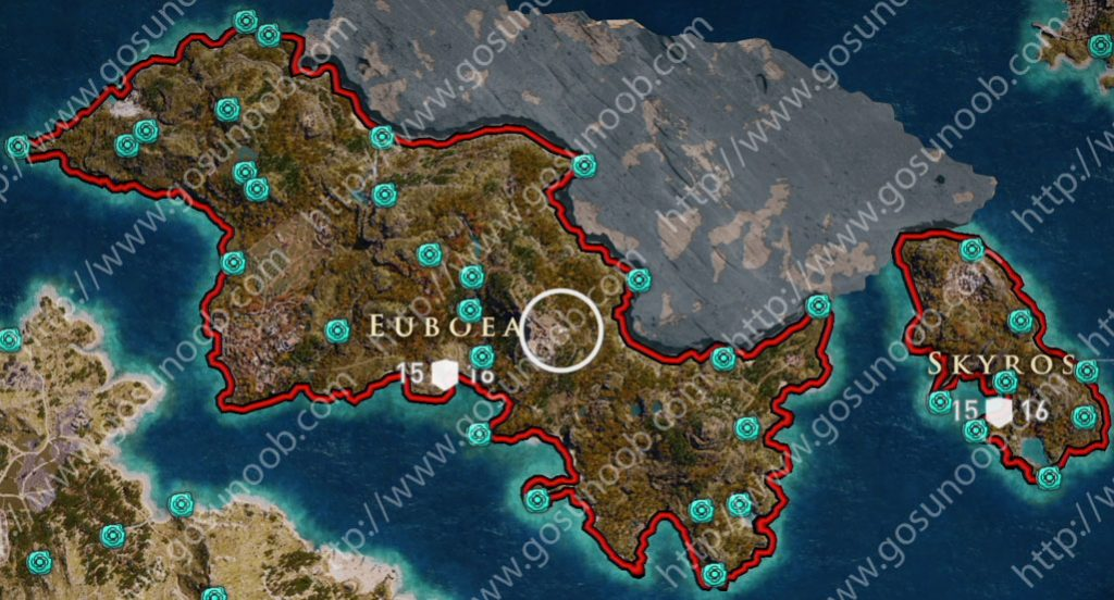assassins creed odyssey orichalcum ore map locations of - 1024×552