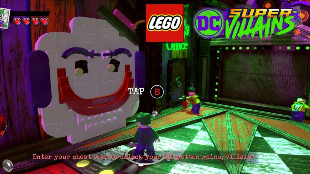 <b>Lego DC Super</b>-<b>Villains Cheat Codes</b> - Character Unlock <b>Code</b>