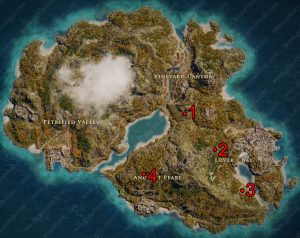 lesbos ancient tablet locations ac odyssey