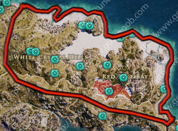 assassins creed odyssey orichalcum ore map locations of - 610×450
