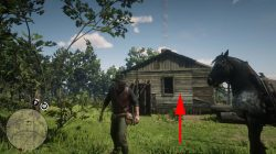 lonnie's shack location red dead redemption 2 where to find