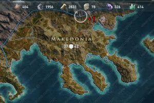 makedonia ac odyssey ancient tablets