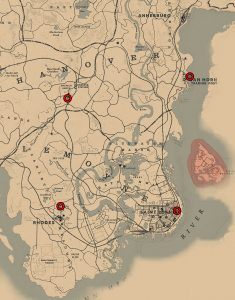 rdr 2 fence locations sell jewelry