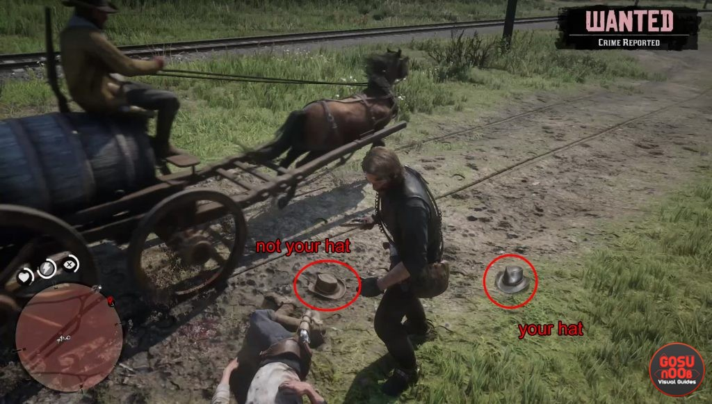 rdr 2 how to get back hat