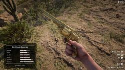 rdr 2 unique legendary weapons