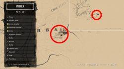 rdr 2 where to find oil derrick dinosaur bone location