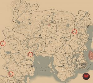 rdr2 trapper locations