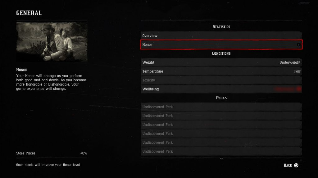 red dead redemption 2 how to gain honor