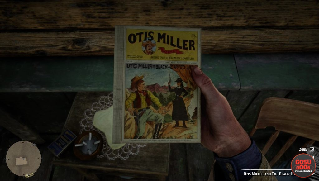 red dead redemption 2 penny dreadful comic book locations