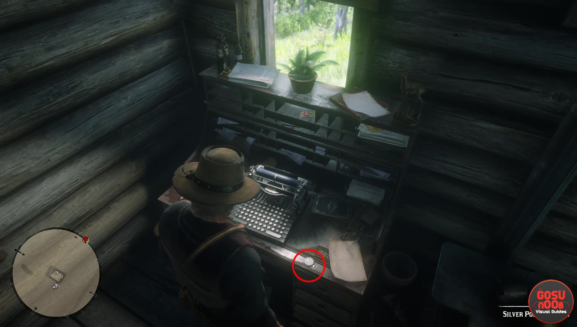 Red Dead Redemption 2 Pocket Watch Location - Lenny