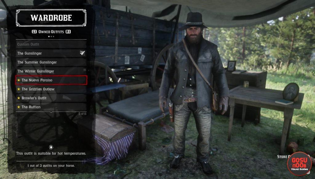 red dead redemption 2 preorder bonus nuevo paraiso gunslinger outfit