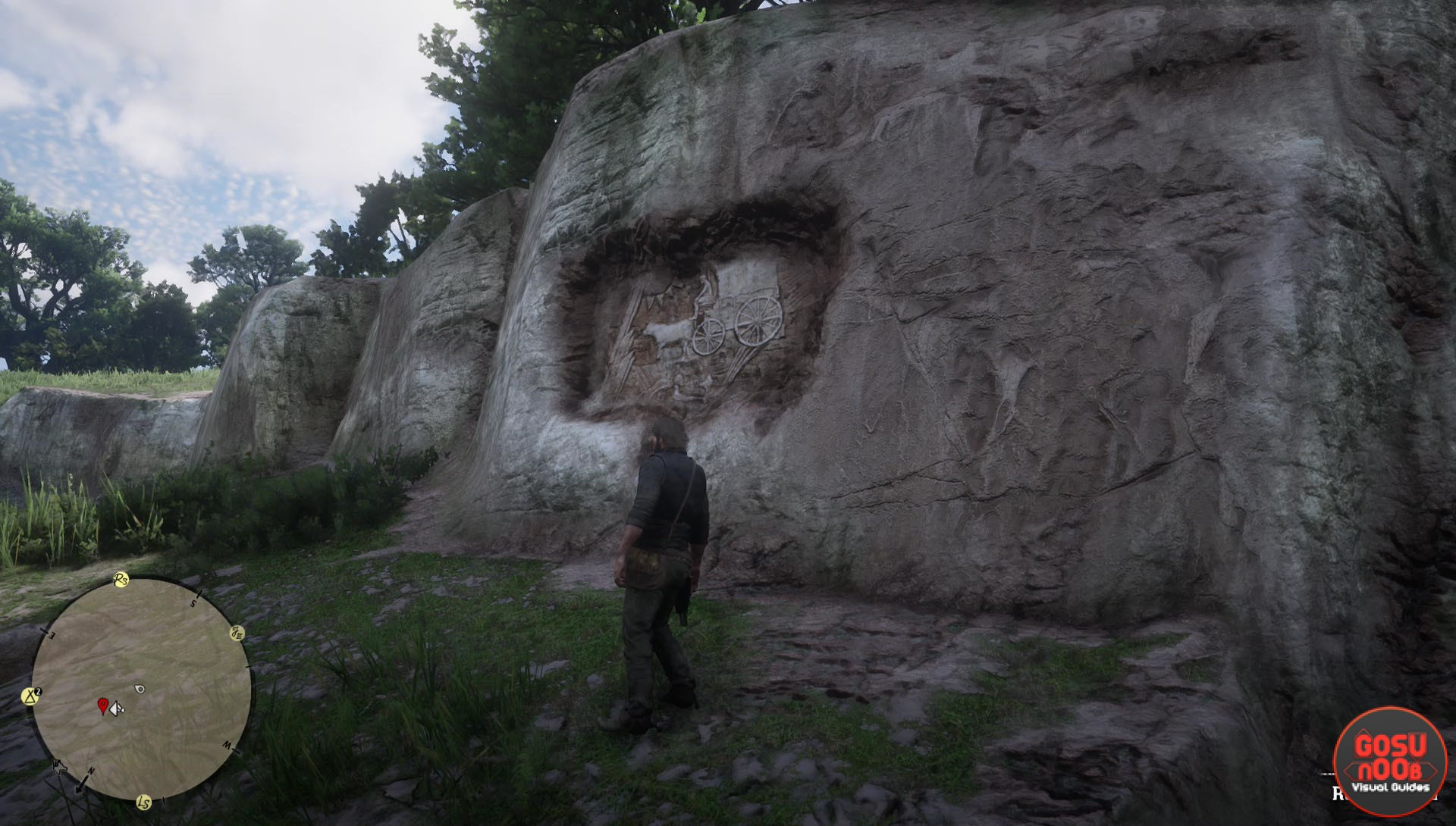 Red dead redemption rock carving locations geology for