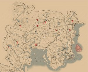 red dead redemption 2 rock carving locations map