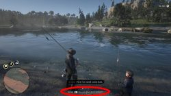 red dead redemption 2 where to find fishing rod
