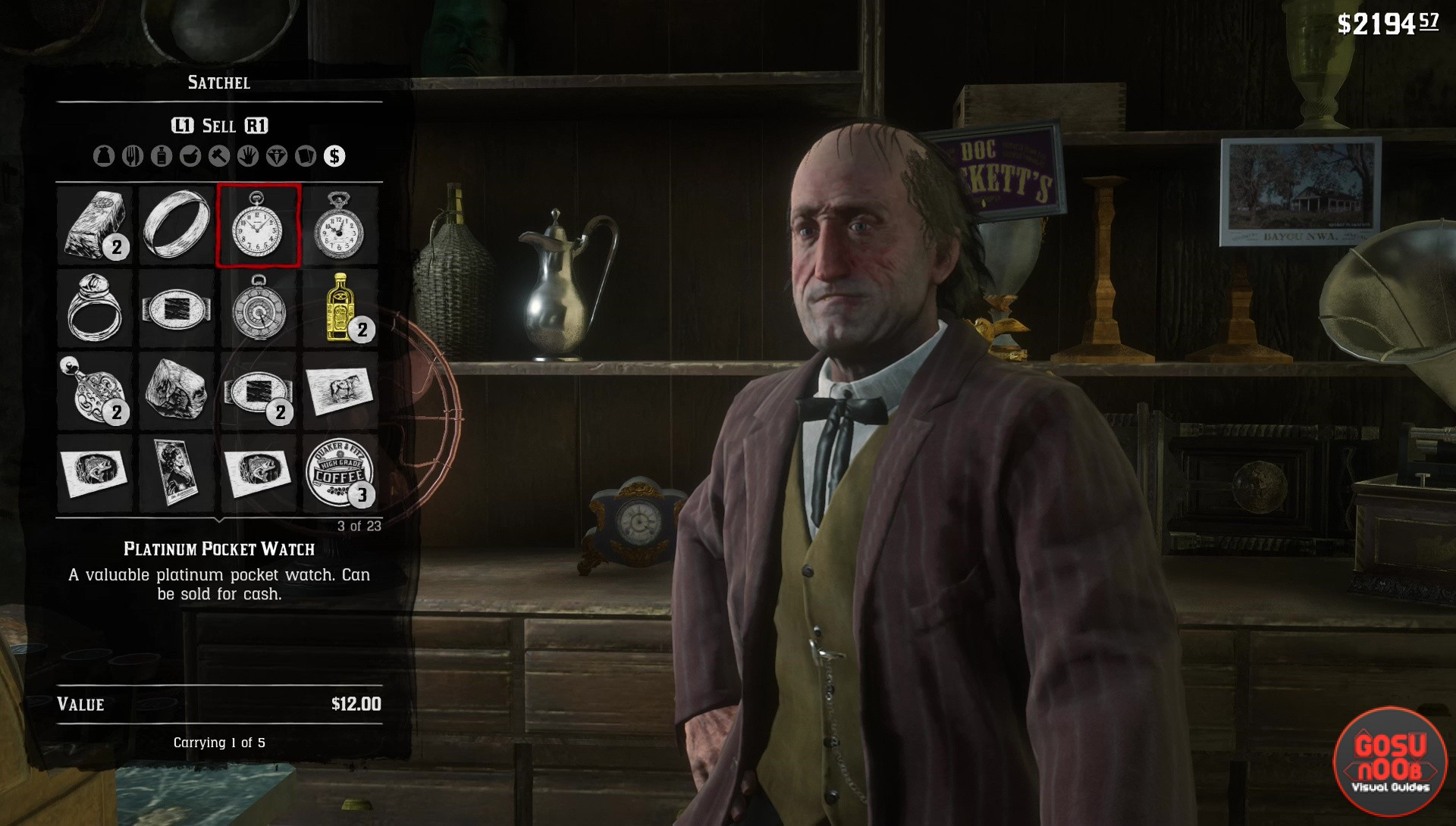 Where Do I Sell Jewelry In Rdr2