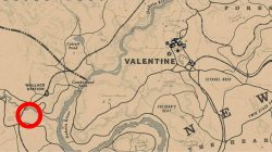 second serial killer map clue location rdr 2 where to find