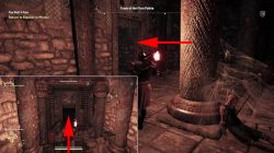 where to find ac odyssey ancient stele in tomb of first pythia